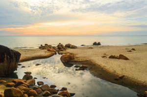 krajinářská fotografie výhled na moře