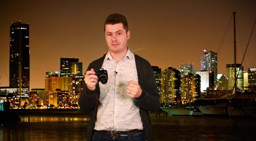 video tip fotografická spoušť