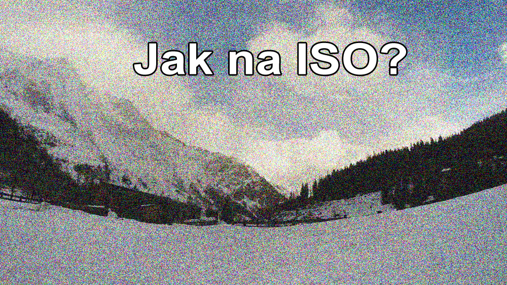 jak fotit s ISO a co to ISO je