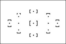 jak ostřit pomocí ostřících bodů