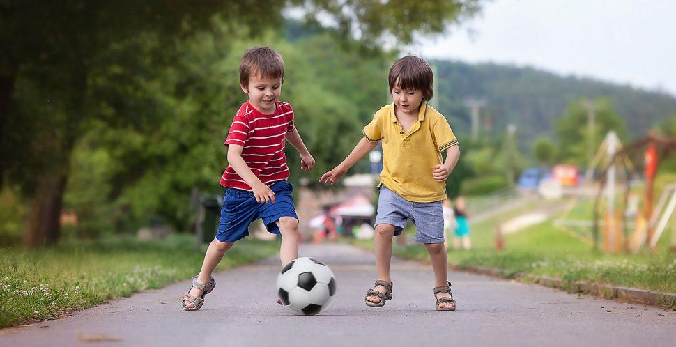 jak fotit děti v pohybu