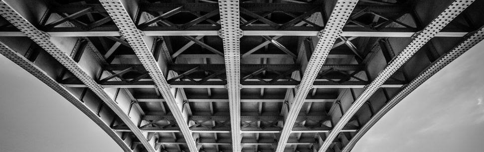 jak fotit most, symetrie