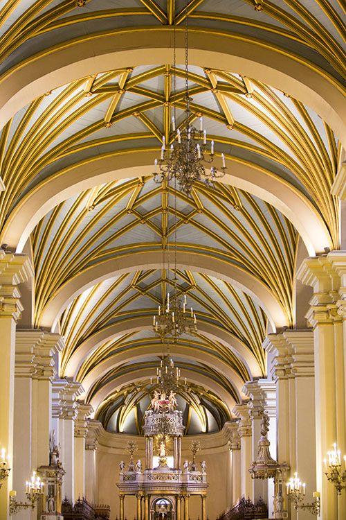 symetrie ve fotografii, kostel