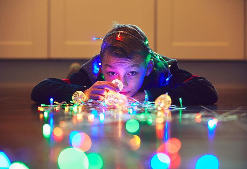jak fotit vánoce